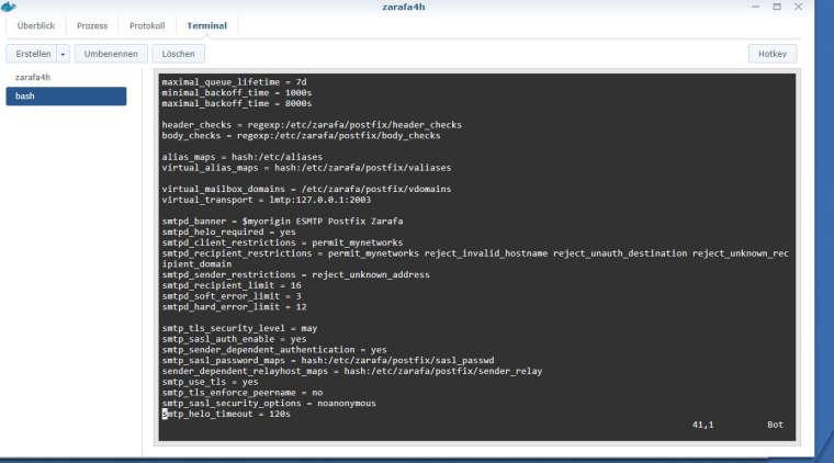 Concept configuration of Postfix with Smarthosts | Kopano Community